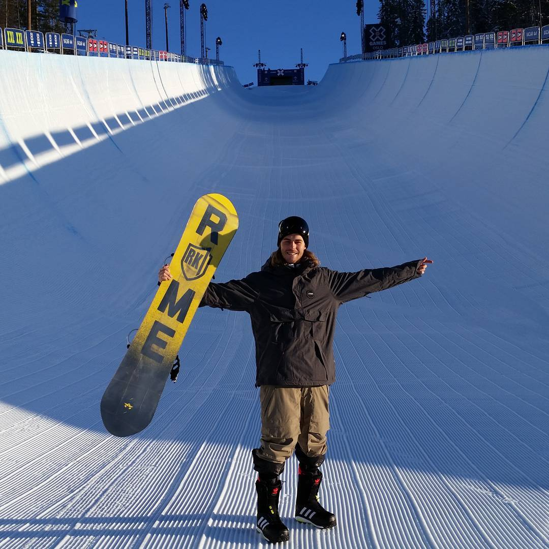 Four-time medalist and Norway native @StaleSandbech has arrived at #XGamesOslo!