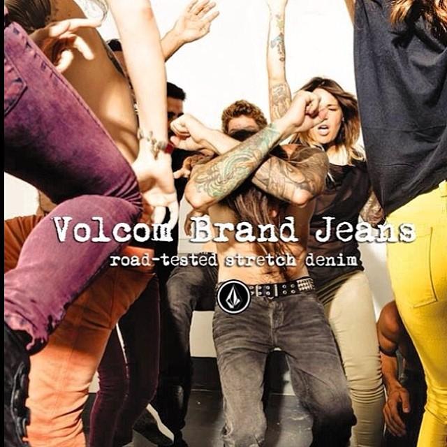 Volcom Brand Jeans #Roadteastedstrechdenim #Denim #Strech #Volcom #VBJ #Jeans #Nowincolors