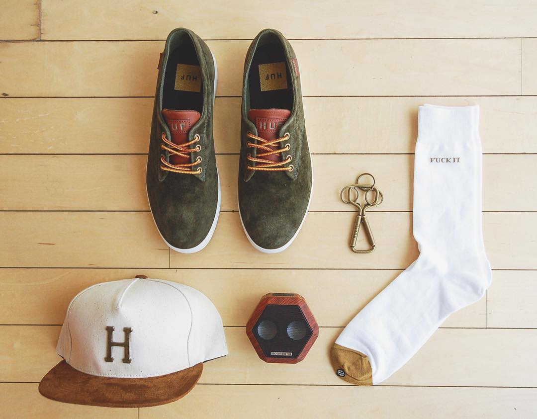 Day to daily. #Boombotix  #Essentials #Audiophile #Huf #Skateboarding #Grid #SoundOfTheBrave #WDYWT