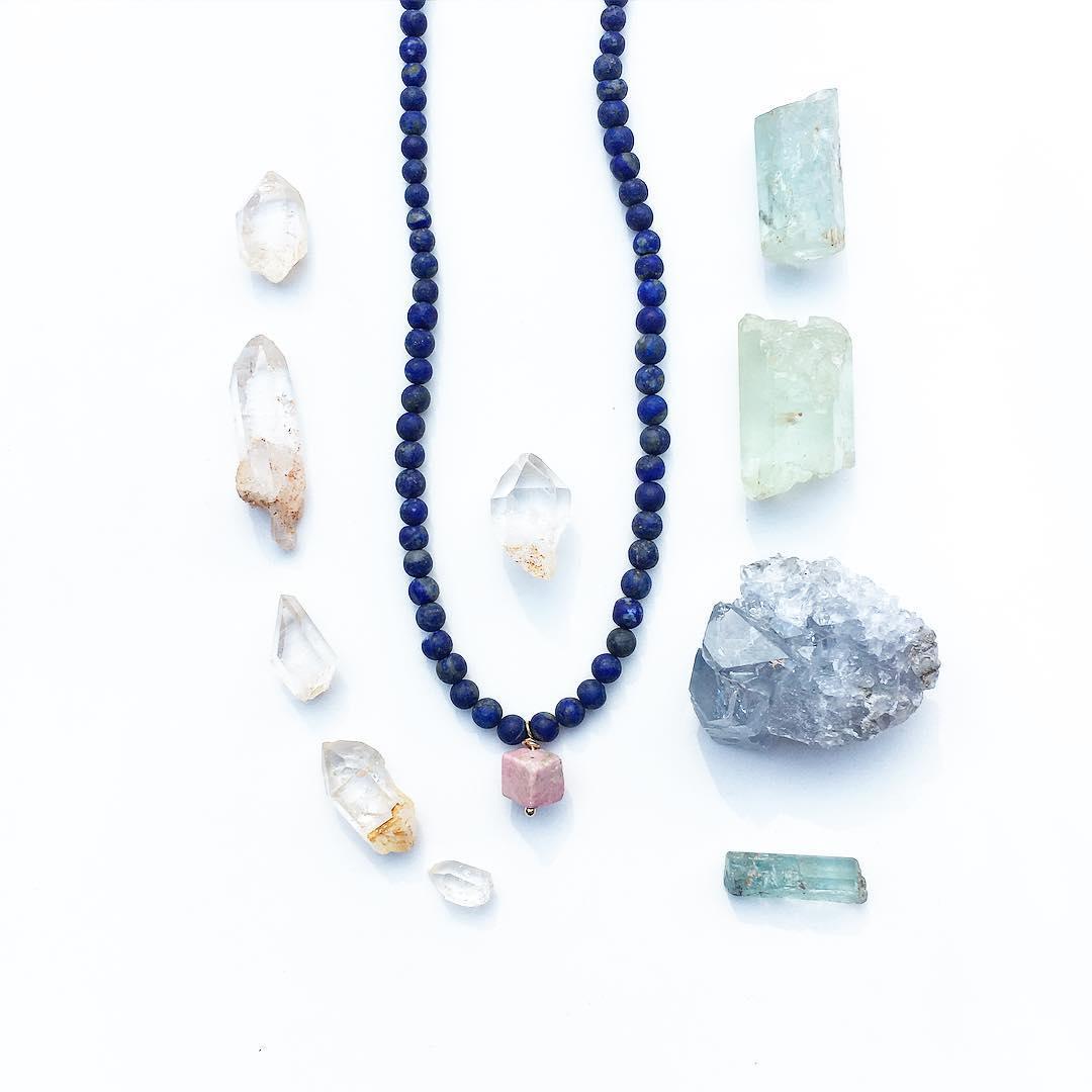 Because Gemstones are just.... So wonderful.  #kyanite #lapis #aquamarine #designspiration #design #gem #gemstones #gemstonejewelry #jasper #quartz #crystals #crystalgypsy