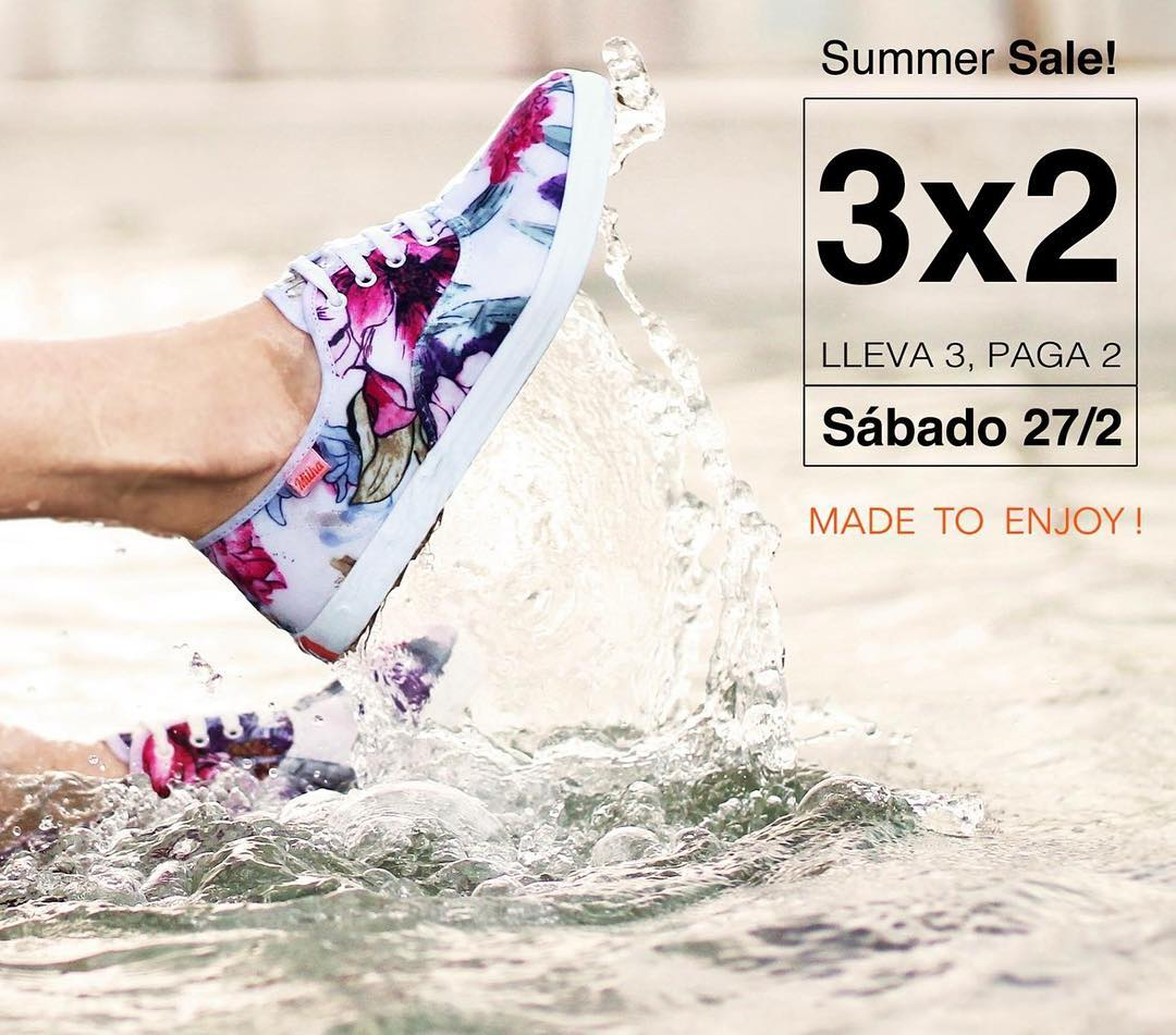 SUMMER SALE! Sábado 27 de febrero de 11 a 18 hs! Showroom Milha™: Charcas 5258 Of. 502 (Palermo). Llevate 3 y pagá 2! Efectivo y MercadoPago. Te esperamos! Made to Enjoy www.milha.com.ar #milha #summer #summersale