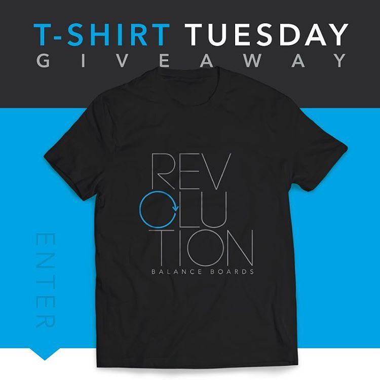 It's t-shirt Tuesday! Make sure to follow us @revbalance and tag 3 or more friends below! Winner announced tomorrow!