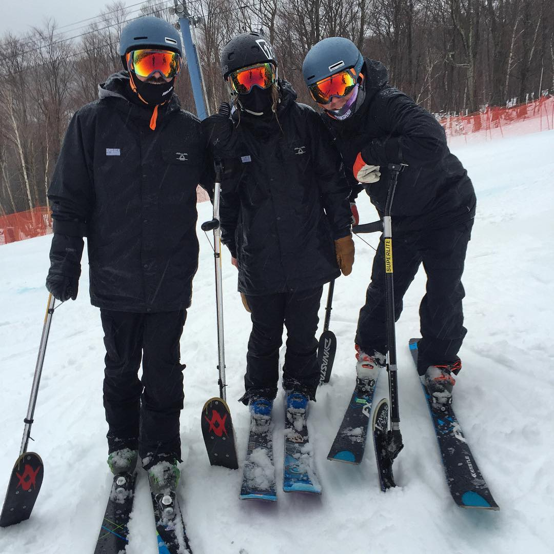 We had the best time with @vermontadaptive, @vtnorthskishop and @sugarbush_vt over the past three days, incredible @usparalympics alpine race camp with 12 amazing athletes and #CDY