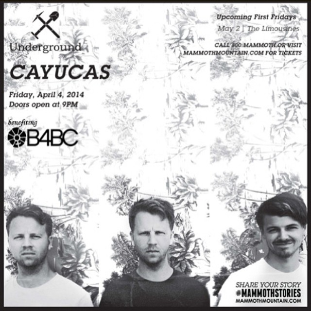 B4BC x FILTER FIRST FRIDAYS // Cayucas Get ready THIS FRIDAY for another ear-rocking good time full of #music, #raffles and good vibes at B4BC x @FilterMagazine First Fridays at @UndergroundMammoth feat. @Cayucas and benefiting B4BC!! Get ready for an...
