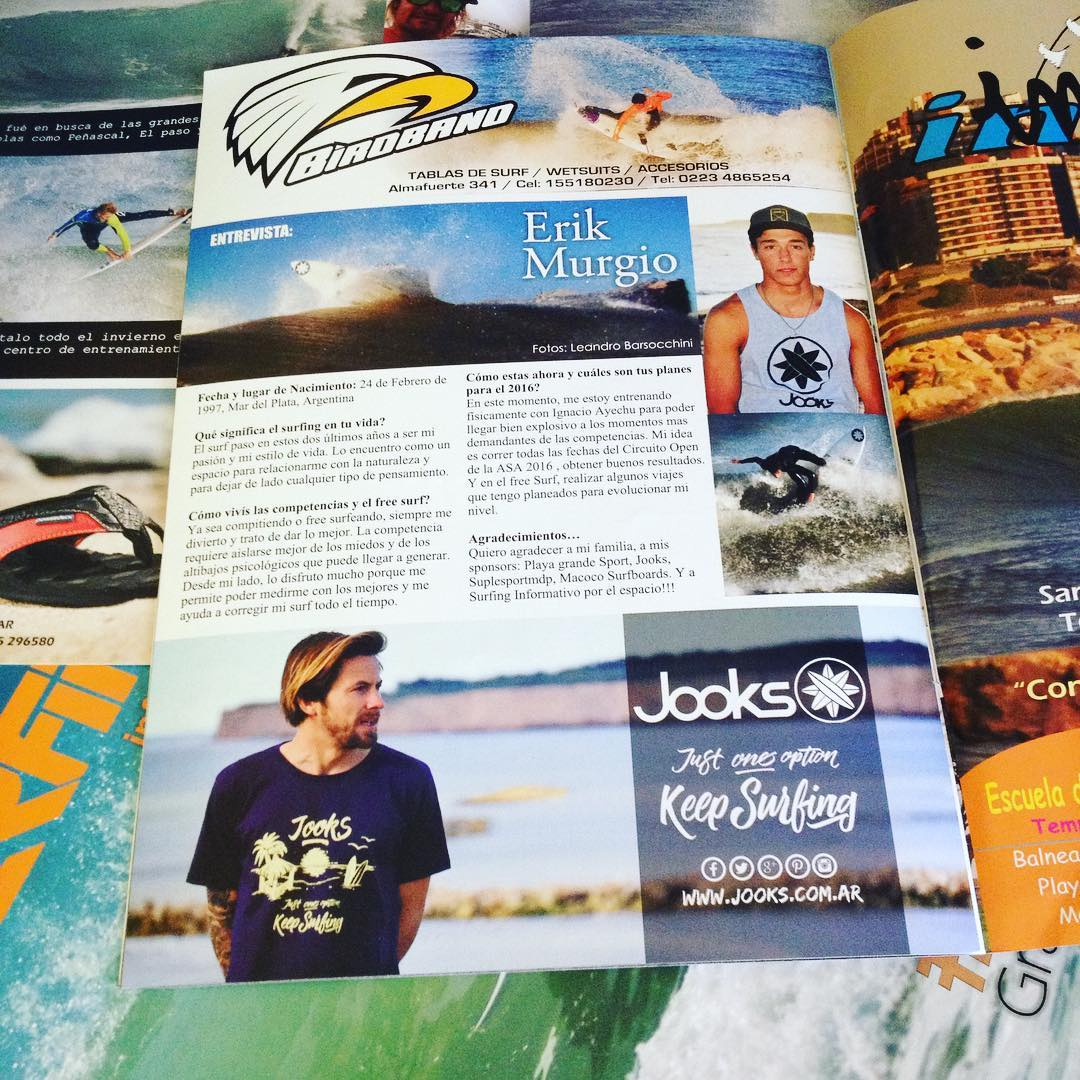 Nos llegó la última edición de @surfinginformativo