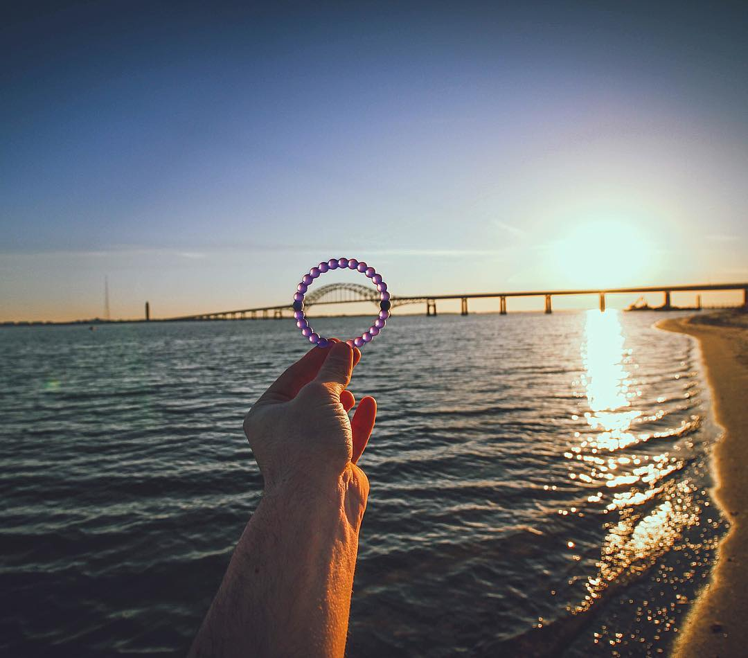 The ____ coast is the best coast! #livelokai #purplelokai Thanks @explorazion