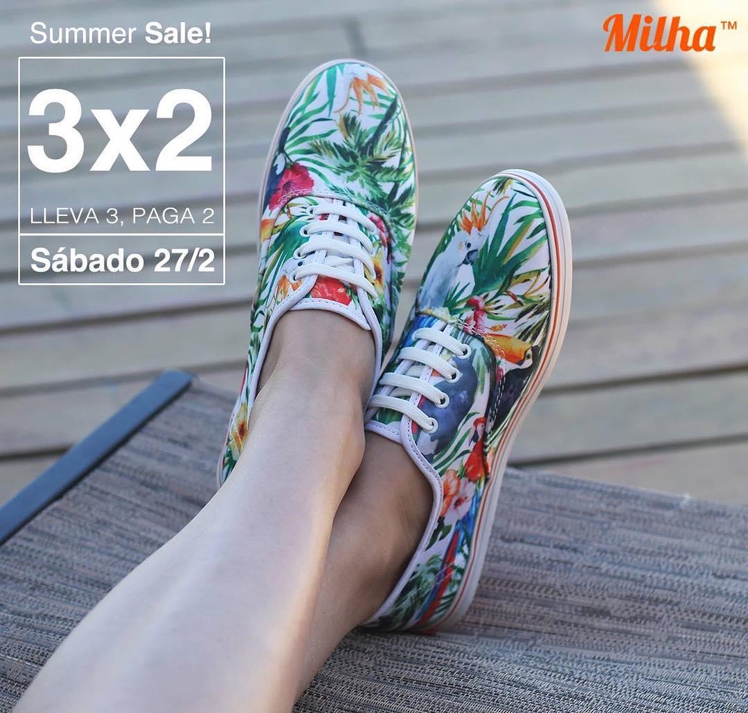 SUMMER SALE! Sábado 27 de febrero de 11 a 18 hs! Showroom Milha™: Charcas 5258 Of. 502 (Palermo). Llevate 3 y pagá 2! Efectivo y MercadoPago. Te esperamos! Made to Enjoy