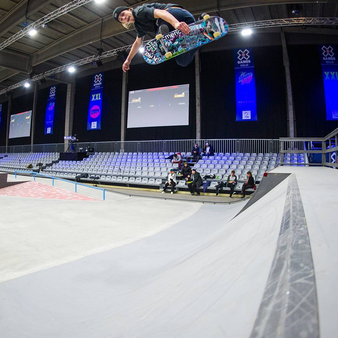 The winner of our Norwegian Prelim will earn a spot in the #XGamesOslo Men's Skateboard Street competition tomorrow! (