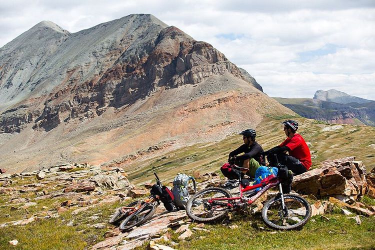 Check out this epic, week-long journey with @portermtb through 90 miles of Colorado backcountry ||