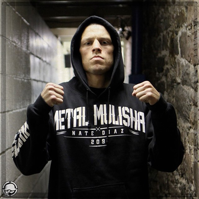 Congrats #FAMILY @NateDiaz209 on your @UFC #FIGHT against @TheNotoriousMMA next week