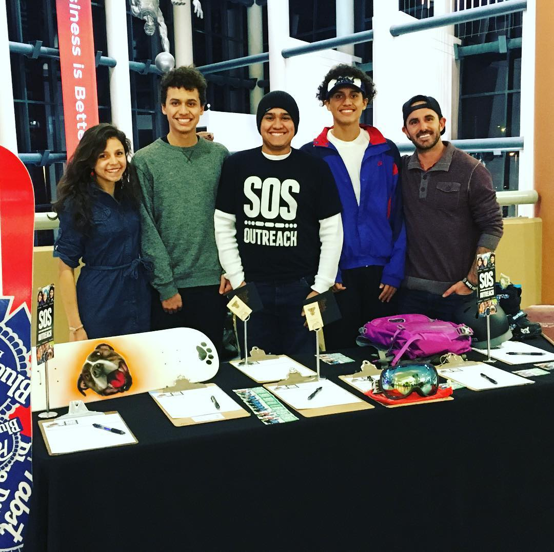 Team #sosoutreach silent #auction is open and ready for bids! Swing by our raffle table on the first level between sections 104 & 106 in the Great Atrium to score some sweet items and support @sosoutreach!