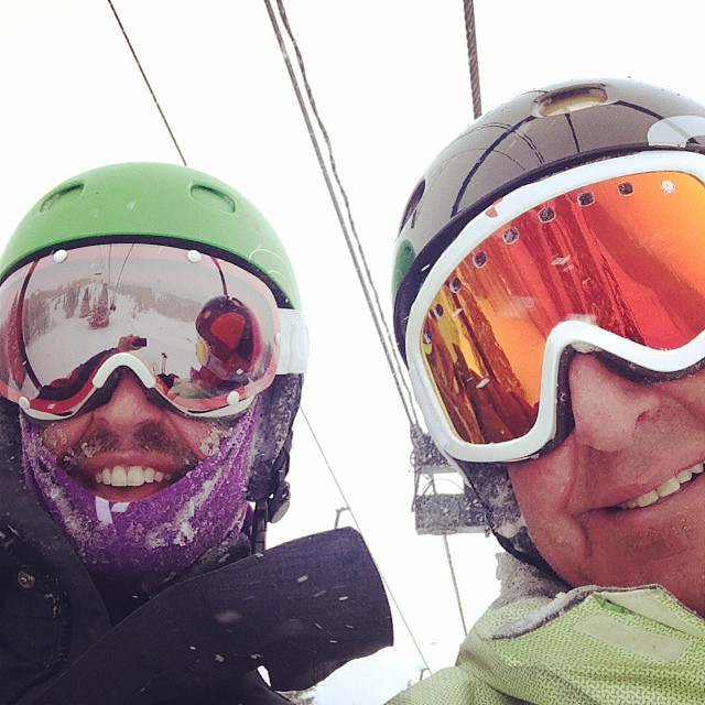 Nothing beats a pow day than a pow day with your old man!  #qualityshafts @tecnicablizzard