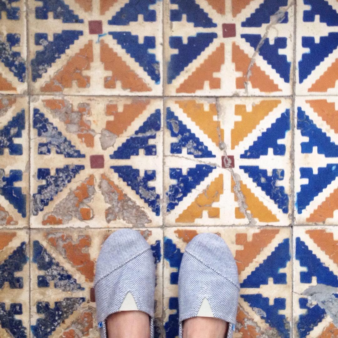 Y si hacemos un contest de Paez & Suelos?  A ver quién los combina mejor... #PaezFromTheTop de hoy en Marrakech! - Let's do a contest of Paez and beautiful floors... Tag your photos with #PaezFromTheTop  paez.com / paez.com.ar