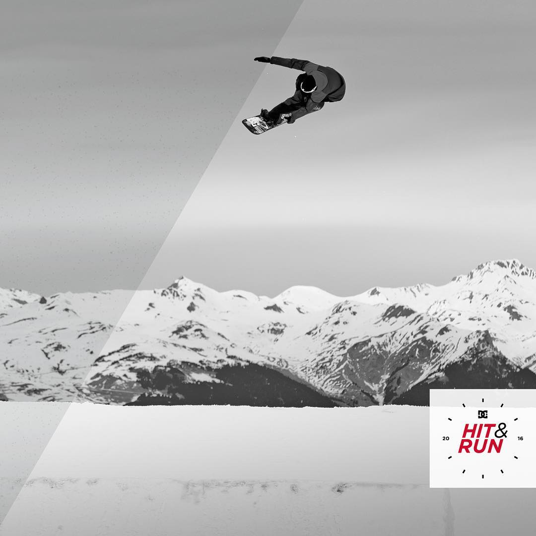 The first #DCHitandRun event at @MammothMountain kicks off tommorrow! If you like riding fast, banked turns, jumps, and jibs then this is the contest for you. Sign up at: dcshoes.com/hitandrun @snowboardermag #DCShoes #DCSnowboarding #DCSnow