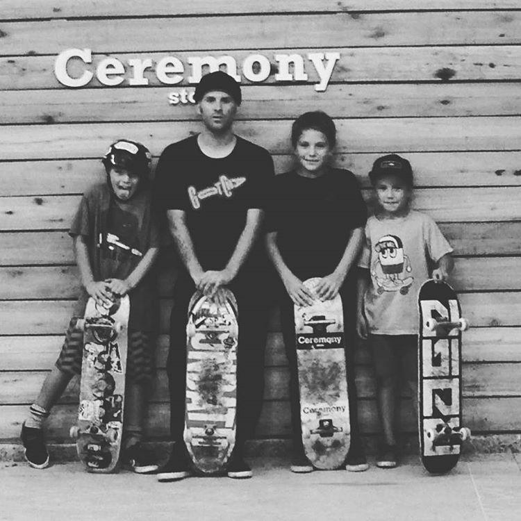 #skateboarding @wallacejuano con la #crew de Ceremony MDQ