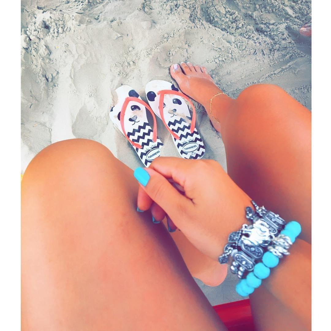 #TôDeHavaianas #HavaianasMoment #VoyConHavaianas #blue @nails_decoradas