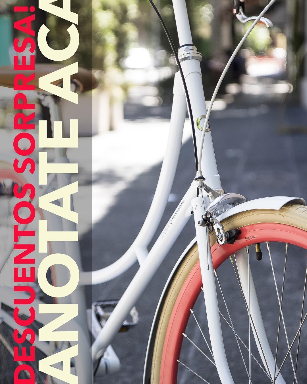Queres recibir descuentos sorpresa y novedades? Anotate aca! http://www.monochromebikes.com/formas-de-pago/  #monochromebikes