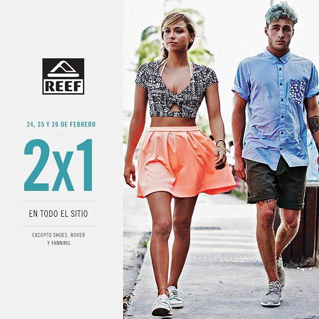 No te pierdas el 2x1 en www.reef.com.ar - metele q termina mañana!!! #sale #summersale #cace