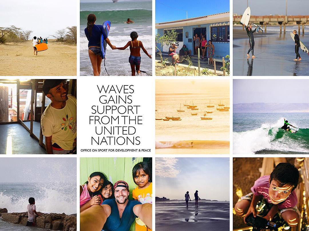 Check out last week's roundup from #WAVESweek - A week celebrating the awesome WAVES team and community and the recent support WAVES gained from the UN!  Thanks to everyone who joined in the fun and shared your awesome memories, photos, and good vibes...
