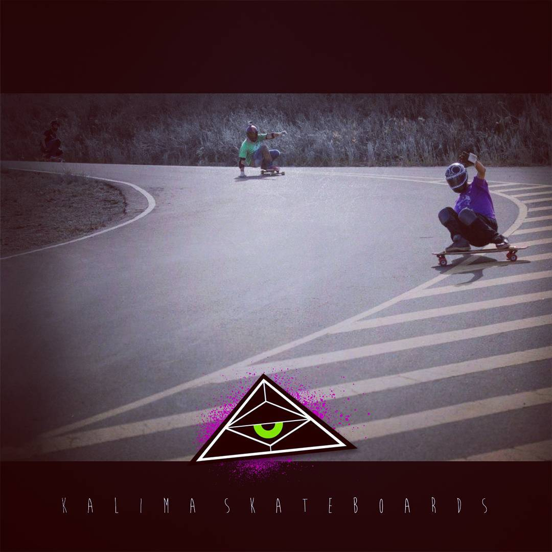 Kalima Freeride  Rider Ejemm Black #freeride #skatelife #kalimalongboards