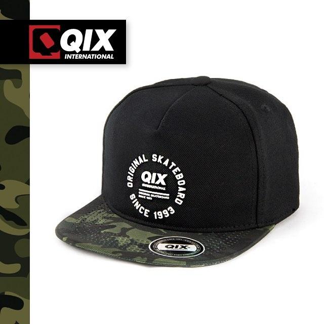 Nova linha de bonés QIX Original. Nas lojas de todo o Brasil e na www.qixskateshop.com.br