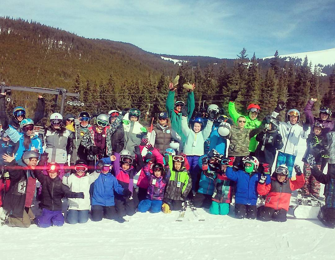 Last weekend, @sosoutreach participants were privileged enough to get to ski with the original 10th Mountain Division members! Thanks @skicooper for enabling our youth to meet Colorado's legendary troops.