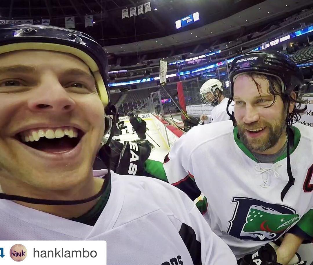 #regram from @hanklambo • #love to all the amazing reps that participated in the SIA/@sosoutreach #charity #shootout last night! Not only did we witness a SURPRISE appearance by no other than #peterforsberg but these #hockey players raised support for...