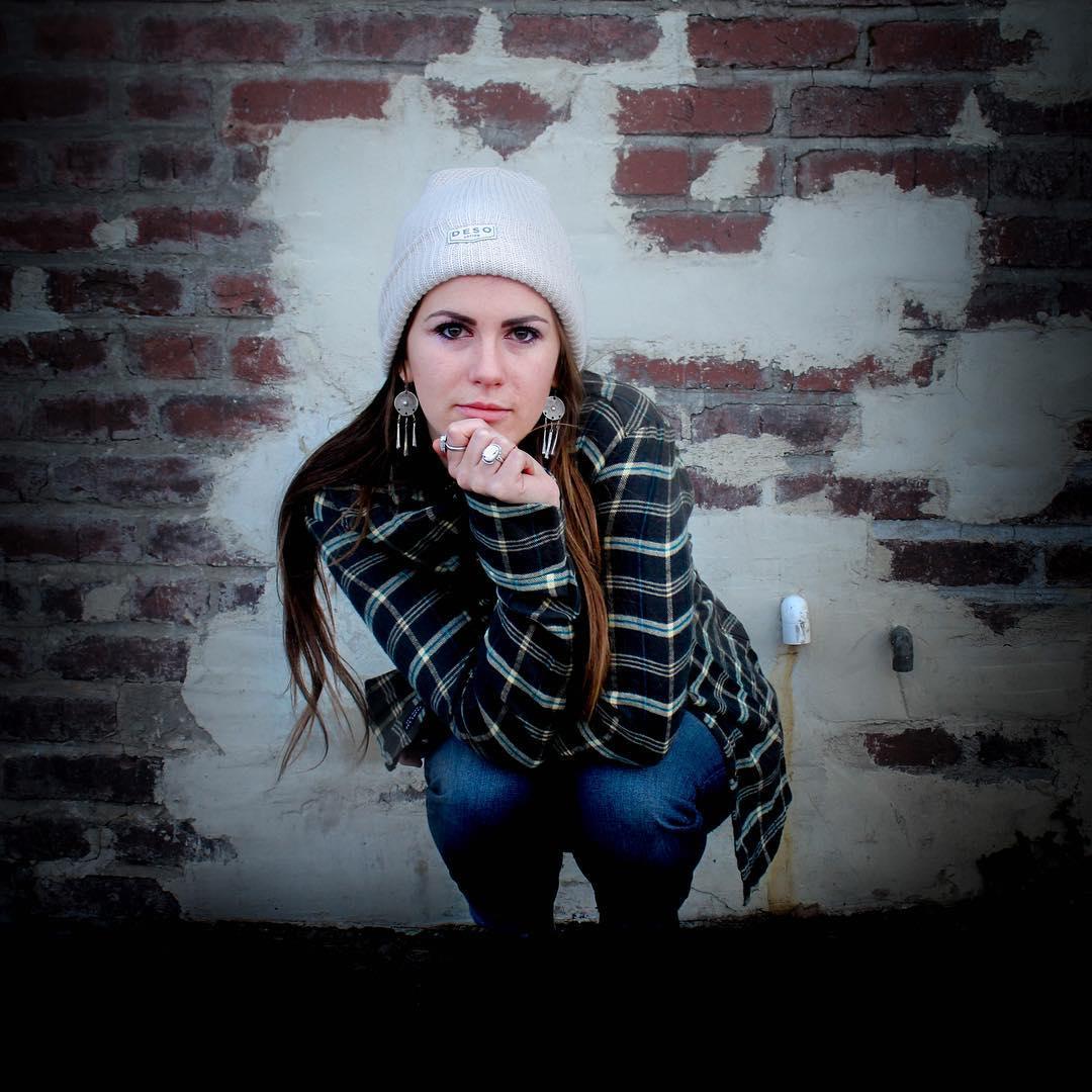 @gr.emily in the @desosupplyco Waca Flannel shot by @demetrisavas. _ #desosupplyco #itswayoutthere #madeinSF