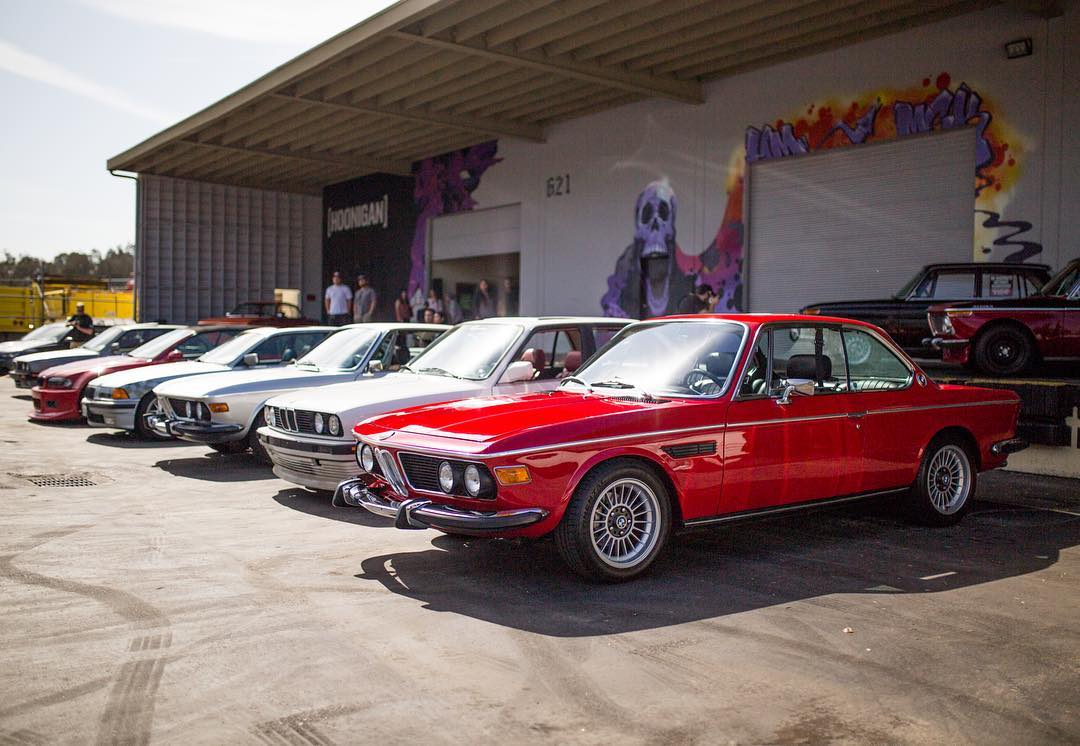 Some BMWs invaded the Donut Garage and tried to class up the joint but as always it ended in burnouts and debauchery. Wanna see more? Hit the link in the bio to peep the video. #classylikeamullet