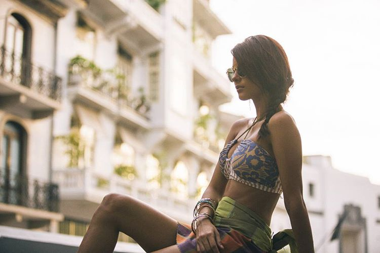 Extremely adjustable, roomy, and comfortable this top is a good one for styling into your everyday outfits or wearing in the surf! Just tie the straps according to your needs! #seeaadria shot by @nick_lavecchia #myseealife #panama #Spring