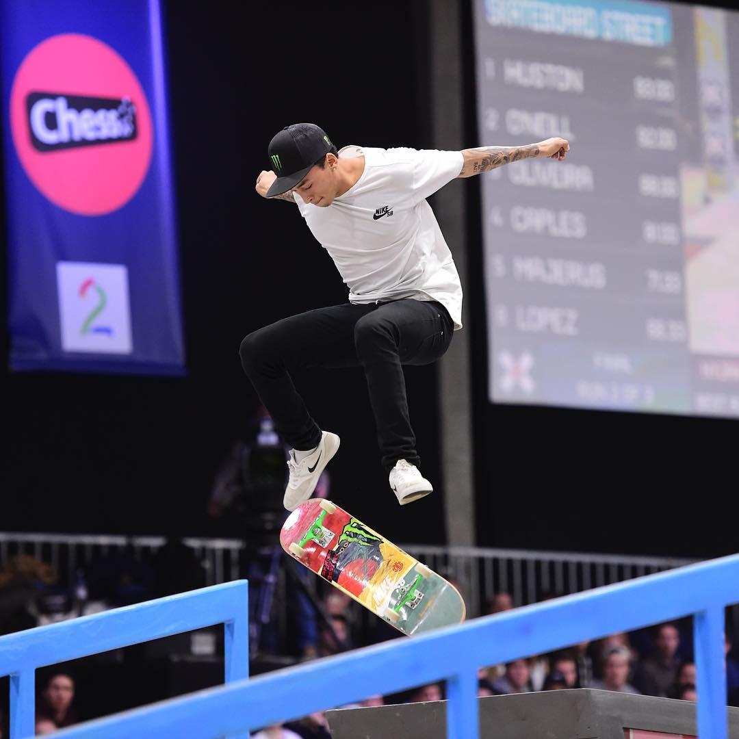The 2016 #XGamesOslo Men's Skateboard Street gold medalist is @Nyjah! (