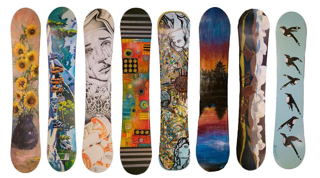 Looking for some incredible one-of-a-kind snowboard art to take home? This weekend, @skitaos in New Mexico is hosting their annual #PaintForPeaks snowboard art auction benefiting B4BC. Last year we raised over $35K, join in to beat it this year! More...