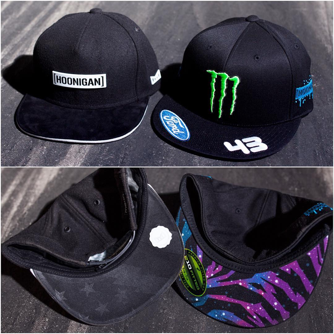 Now available at your local LIDS store: a range of hats from @TheHoonigans, including their new #GymkhanaEIGHT hat! As well as some other flexfit and snapback options. Check out your local @Lids4hats store to #supporthooniganism.