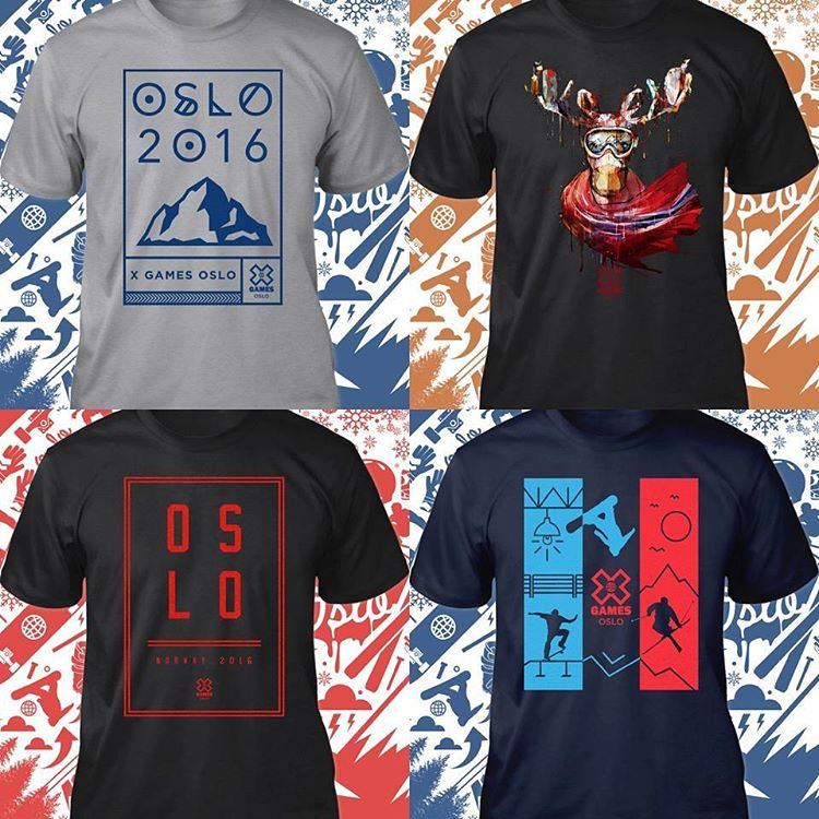 Official #XGamesOslo swag is on sale now at shop.xgames.com!