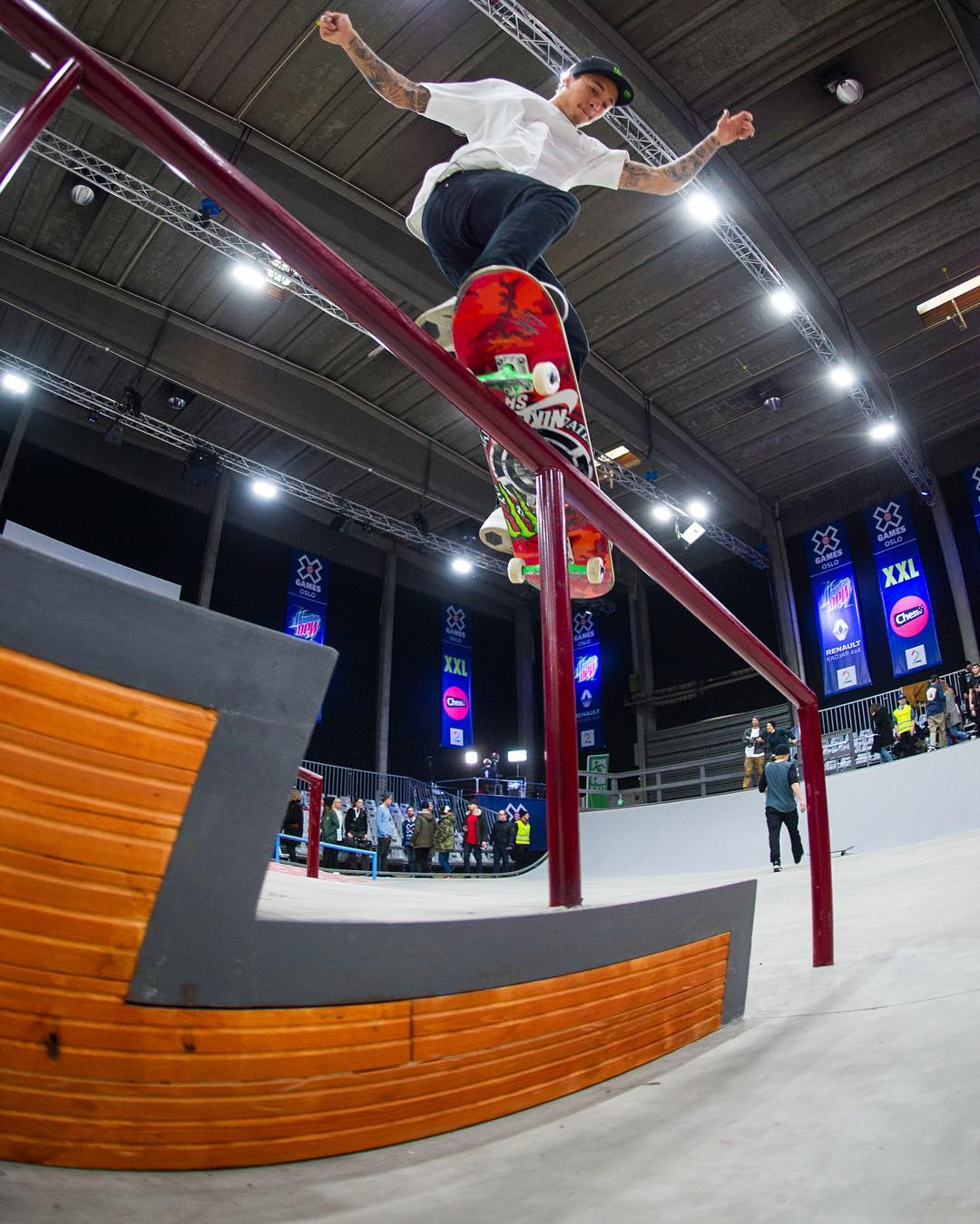 ICYMI: @Nyjah earned his eighth ❌ Games gold medal last night! (