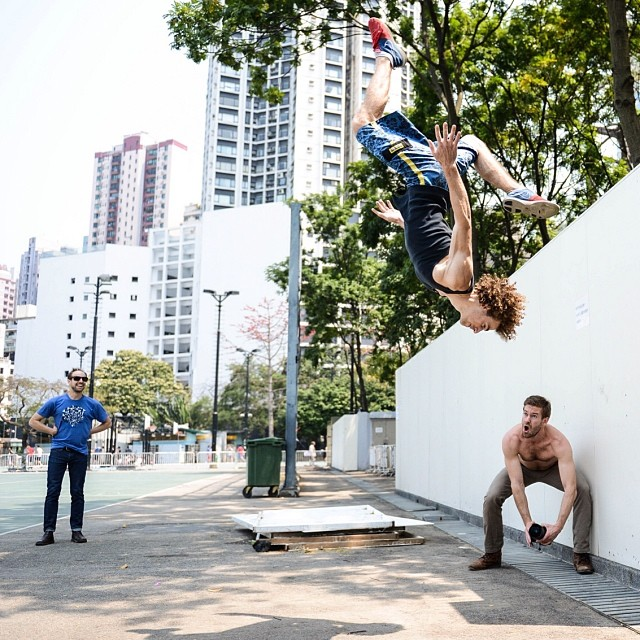 We never cease to be amazed by the folks we meet when traveling. Meet @chrisacrosstheworld, American #stuntman in China.