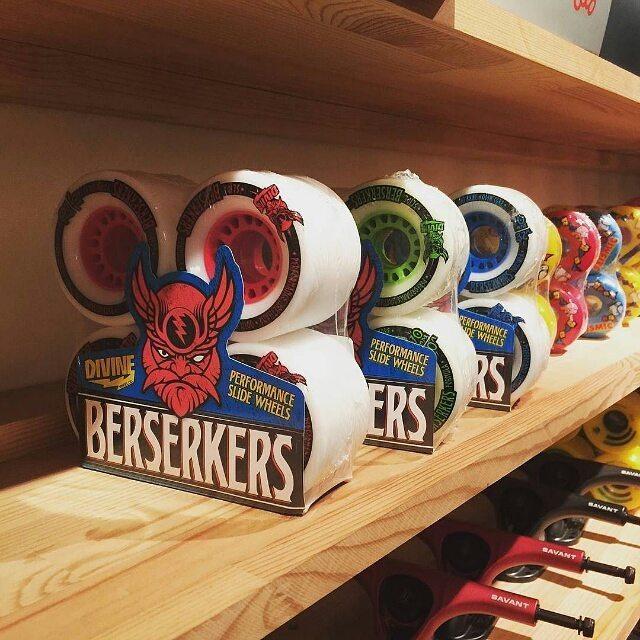 #Repost @livetosurf2009 ・・・ Berserkers #wheel #berserker #divinewheels #skateboard #longboard #slide