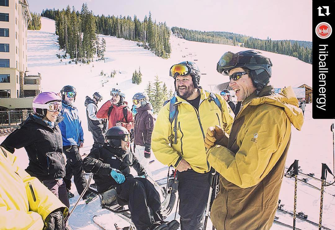 "#Repost from @hiballenergy: ""Energy and stoke hit a new high yesterday as #grantkorgan and #ScotSchmidt joined the crew. The Hiball Energy Athlete Summit is in full swing. Can't wait to see what today brings! #HiballBigSky2016 #bigskyresort #powderweek..."