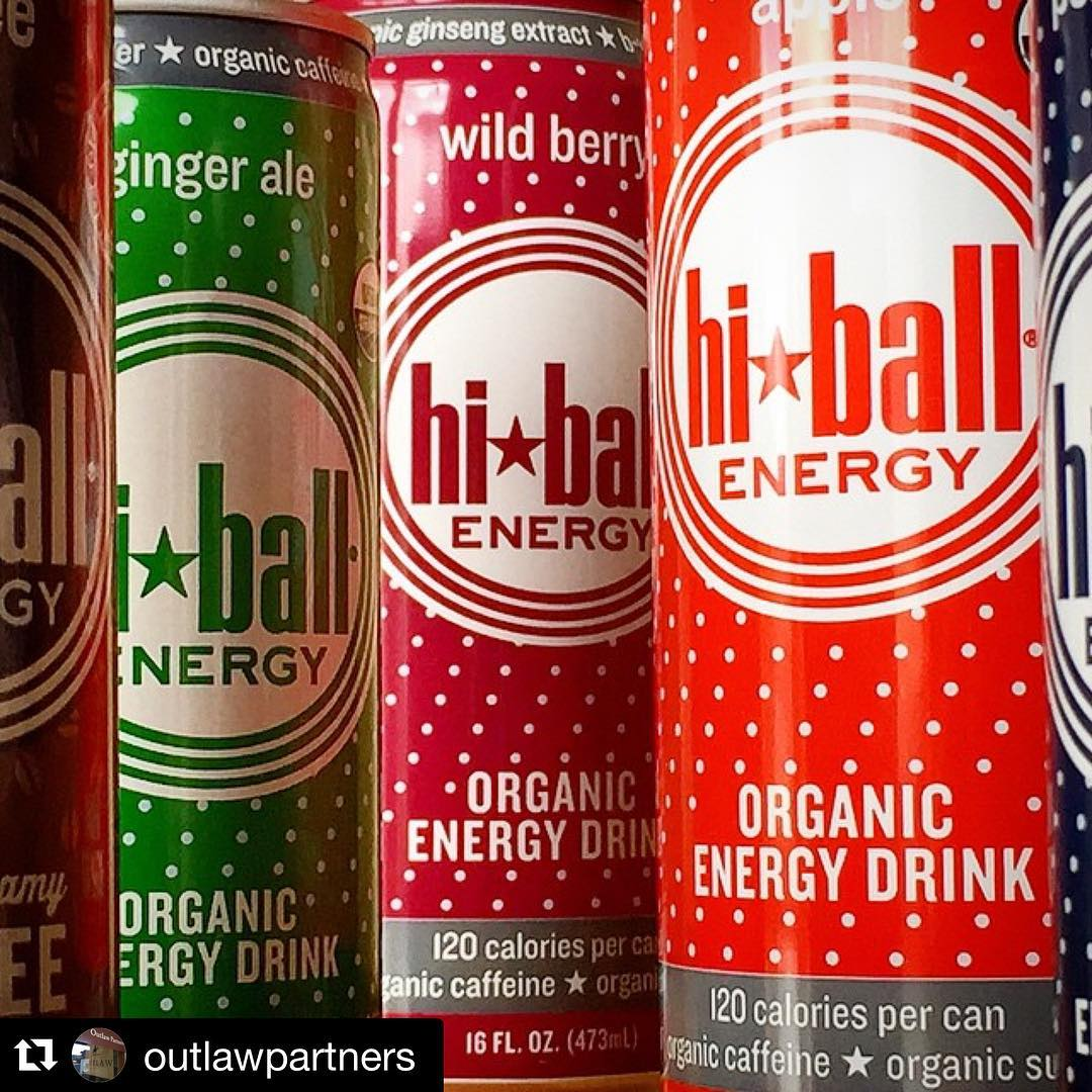 Positive energy in a can!! Everything I put in my body has an impact - with words like 100% organic, fair trade, ethically sourced ingredients sustainably found in nature, @hiballenergy manufactures good good living!! Honored to wave the flag of the...