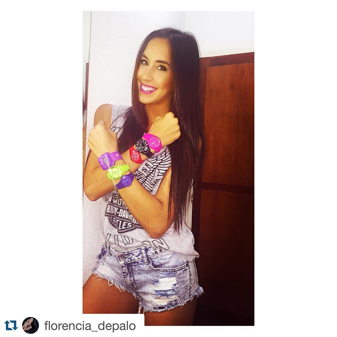 @florencia_depalo con su #Rubberchic #collection #fashion #trendy #summer #summertime #everytime #itsrubbertime