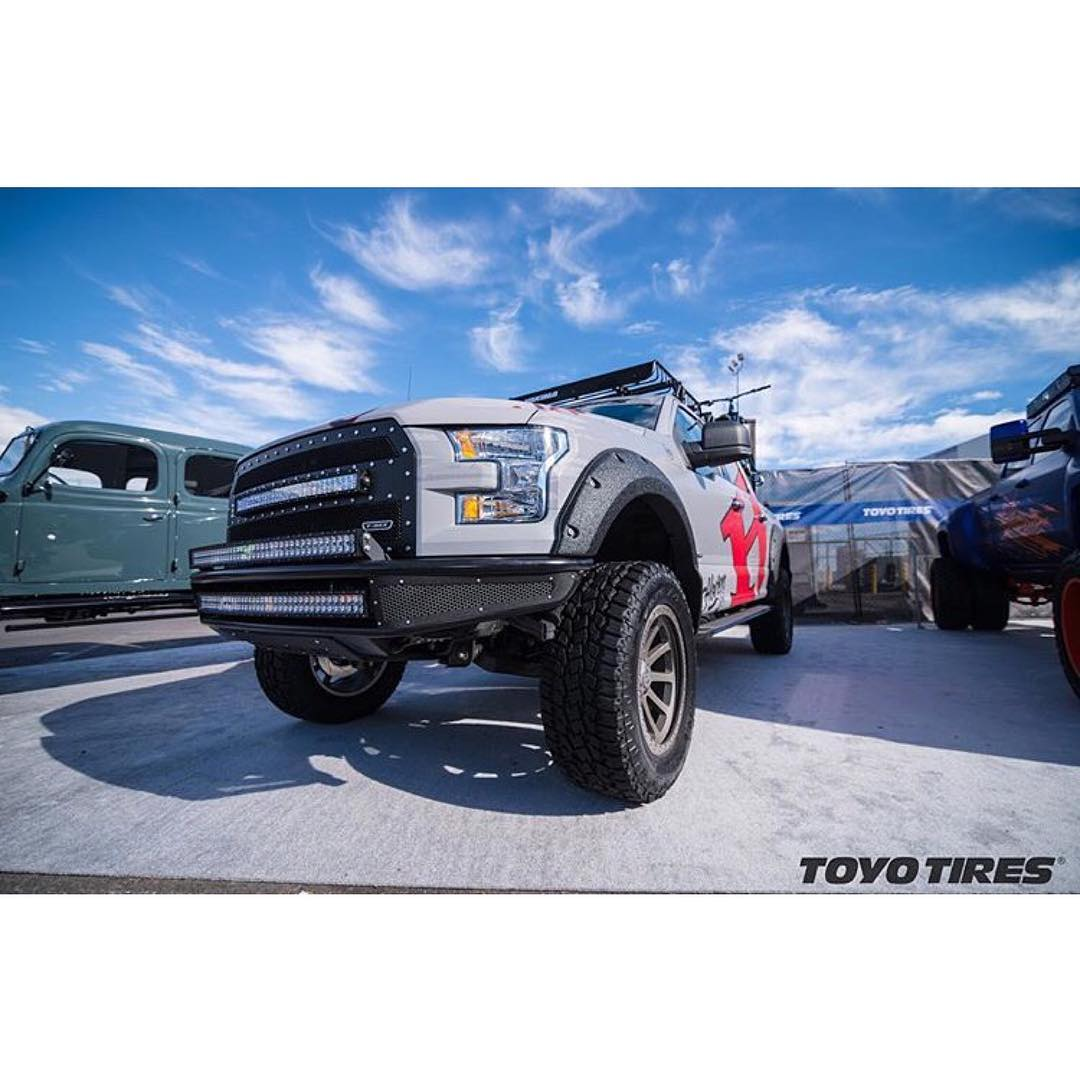 Nice feature from @toyotires when @hovenvision was at @semashow in Las Vegas! If you ever see our truck on the street, flag us down for some stickers and sunglasses!  Photo// @toyotires  #hovenvision #sema #toyotires #whatsyourvision