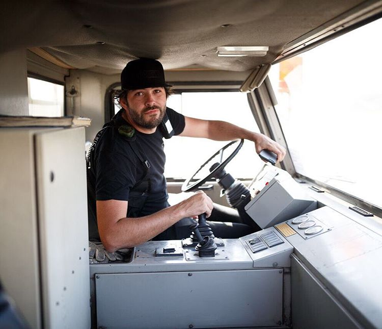 Gymkhana Creative Director / Hoonigan Chief Brand Officer @BrianScotto has come a long way from his days of a Segway rider in Gymkhana videos and demos. #GymkhanaEIGHT #movingonup #tuglife #Dubai
