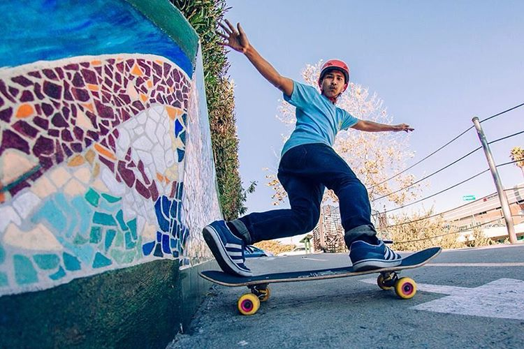 #orangatangambassador @stevenvera.a straight beaming in mid slide.