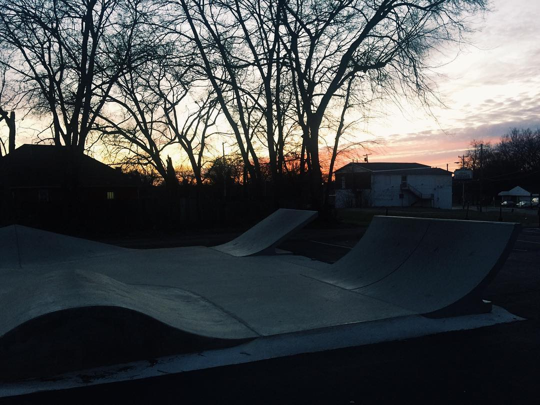 Solo park session is a great way to end the week.