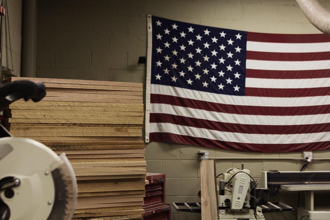 Boards made in the US since 2012.