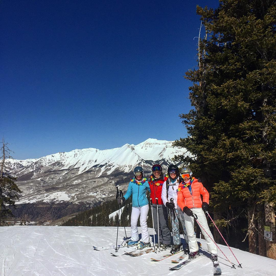 (1/6) Hi, this is your SJ Rockies Regional Coordinator Alex Freericks, and as you know I'm taking over Instagram for the Telluride Women's Ski & Wellness Week................. This morning the ladies have been enjoying a beautiful blue bird day out on...