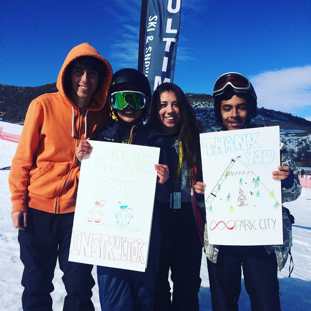 Can't believe it's already time for our first EVER @pcski Learn to Ride #graduation! A year ago @sosoutreach programs in #utah were just a #dream -- but this Sunday we will welcome 45 #saltlakecity kiddos into the #SOSFamily! Congrats!