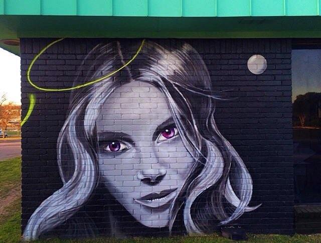 @400mlbakery • • #atx #austintx #texas #tx #spratx #graffiti #grafite #streetart #mural
