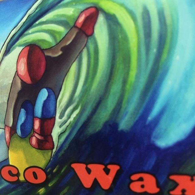 regram @jimbosurfwax Wave Tribe Eco Wax coming coming atcha like #elnino @wavetribe #privatelabel #thegoodstuff #slotted