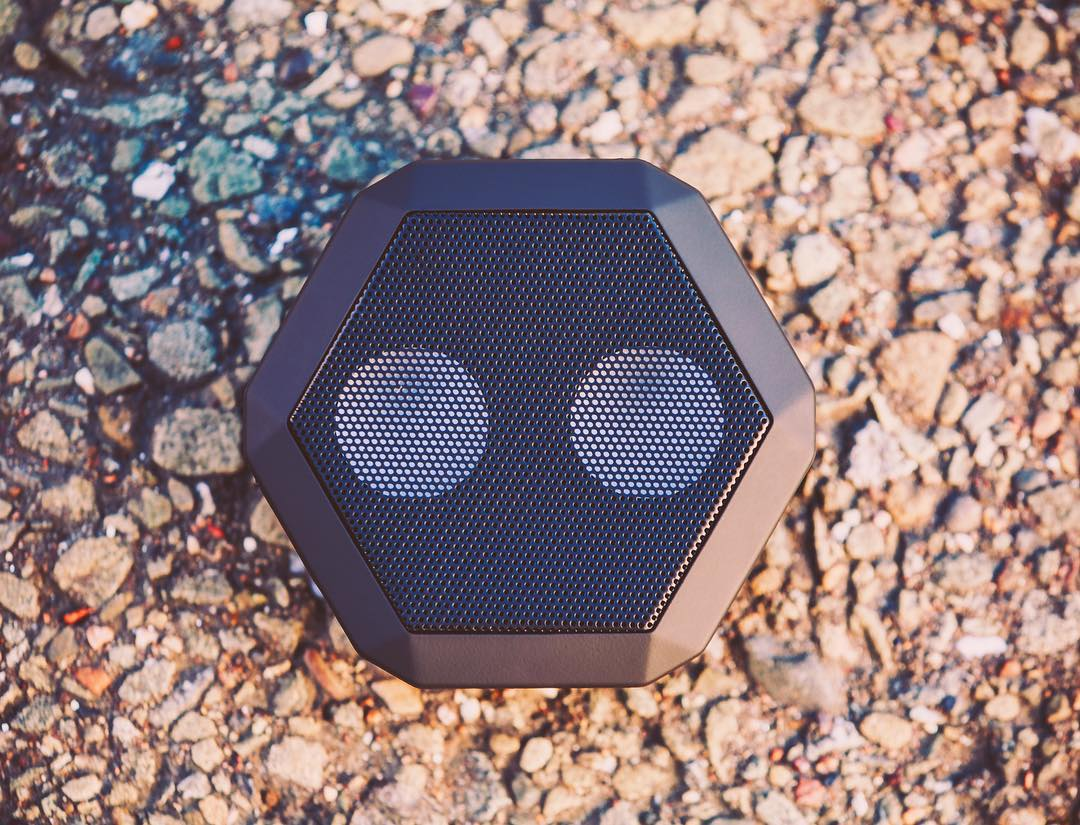 Hit the link in our profile to shop the line.  #SoundOfTheBrave  #portablespeaker #bluetoothspeaker #essential #audiophile #design
